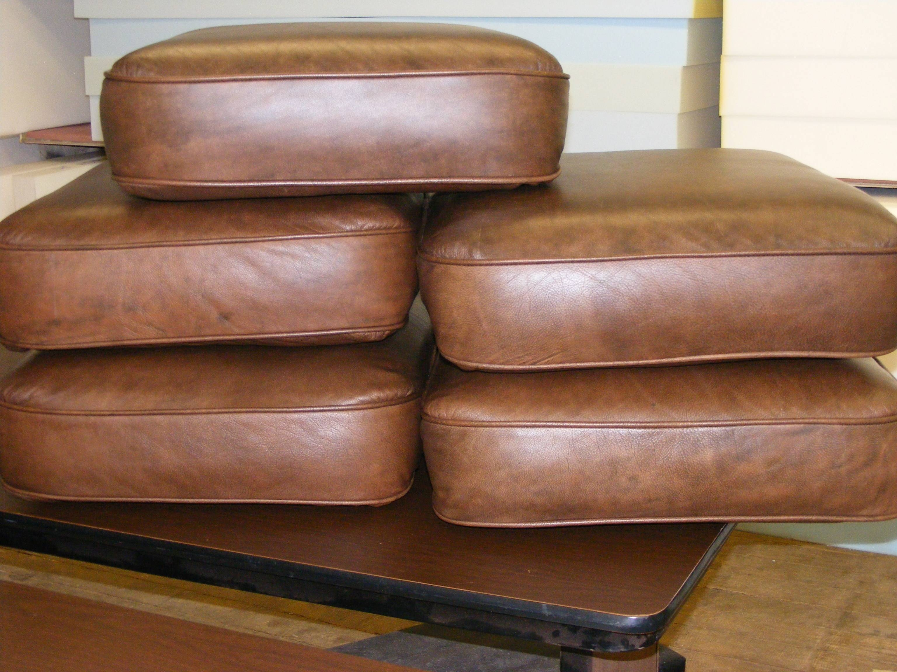 Replacement Leather Sofa Cushions inside Sofa Cushion Covers (Image 12 of 15)