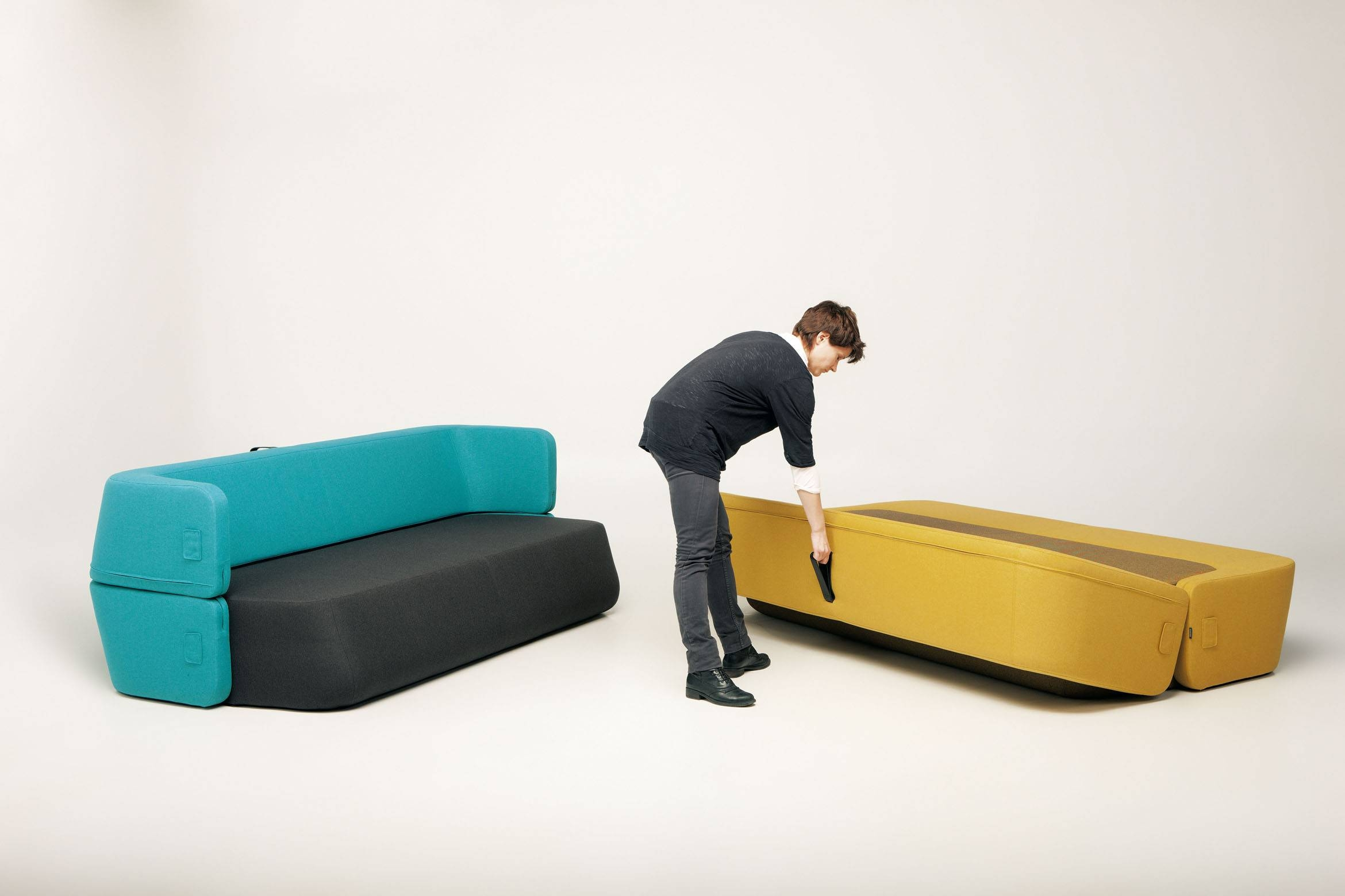 Popular Photo of Collapsible Sofas