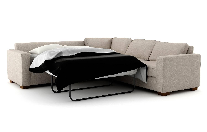 Rio Corner Sleeper Sectional | Viesso with regard to Corner Sleeper Sofas (Image 12 of 15)