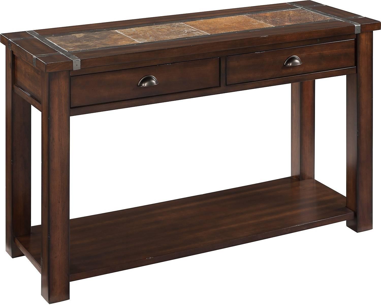 Roanoke Sofa Table | The Brick with regard to Slate Sofa Tables (Image 6 of 15)