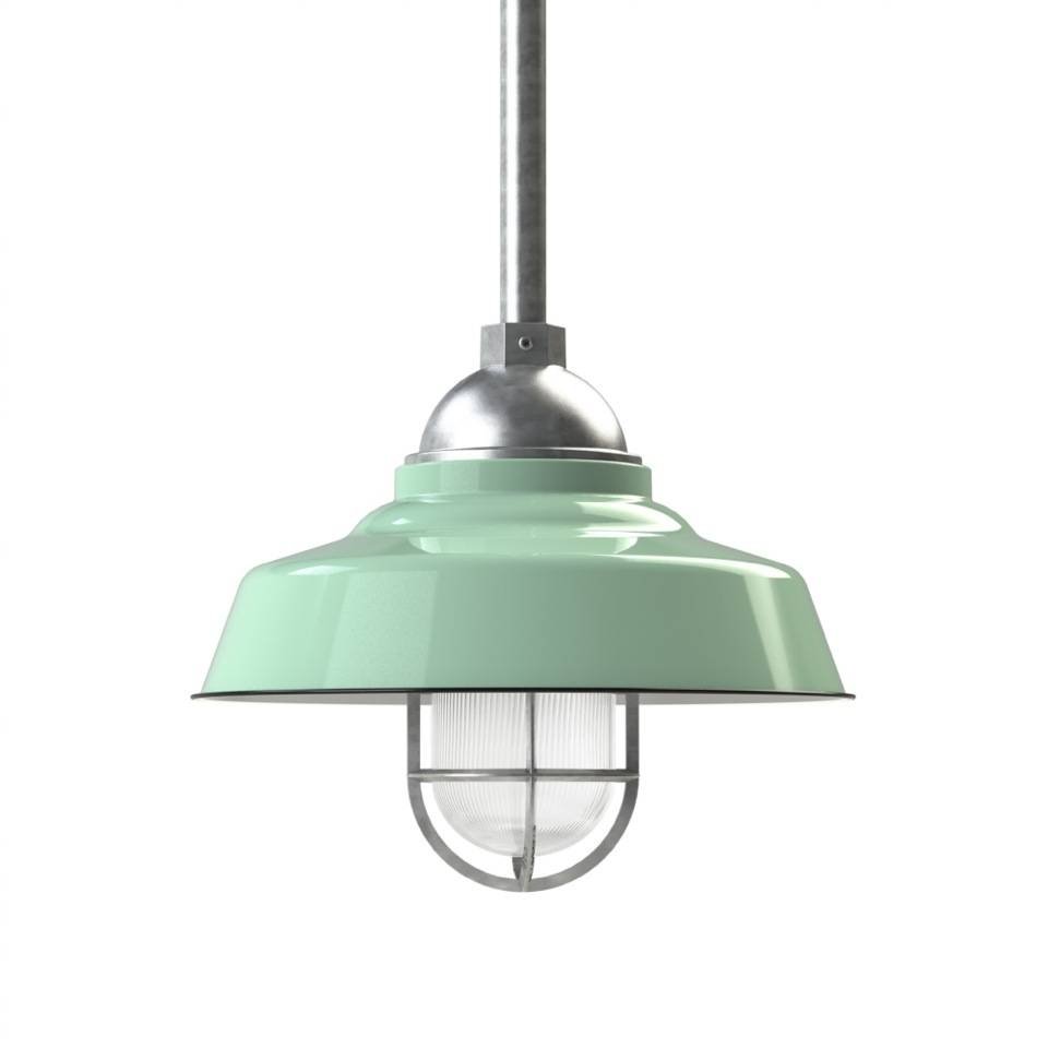Rochester Led Stem Mount Pendant Light | Barn Light Electric Intended For Galvanized Pendant Barn Lights (View 3 of 15)