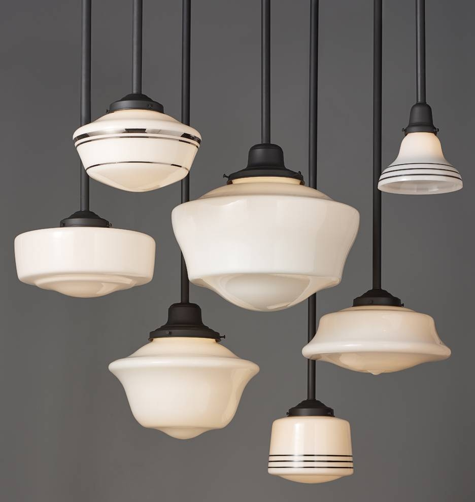 Rose City 6In Pendant | Rejuvenation intended for Schoolhouse Pendant Lights Fixtures (Image 7 of 15)