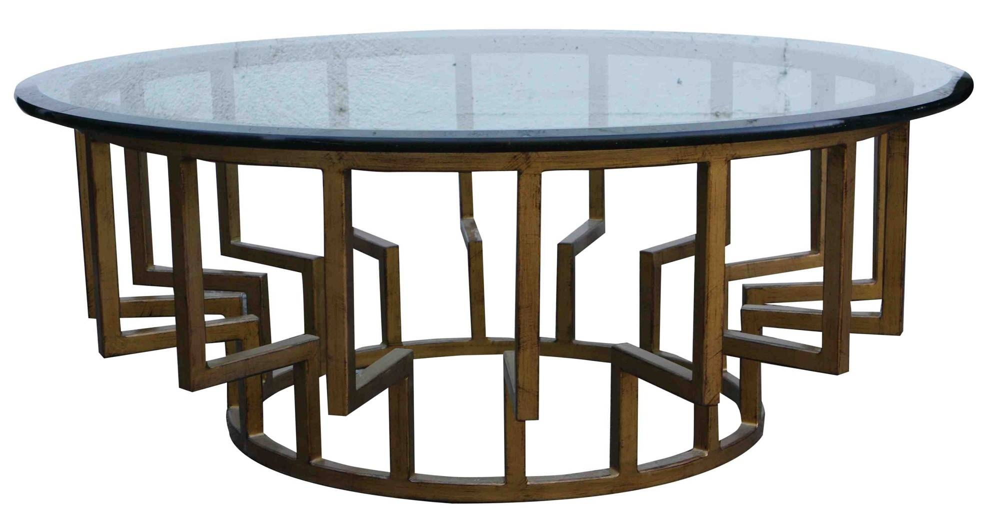 Round Low Coffee Table Base Ideas ~ Idolza with regard to Large Contemporary Coffee Tables (Image 14 of 15)