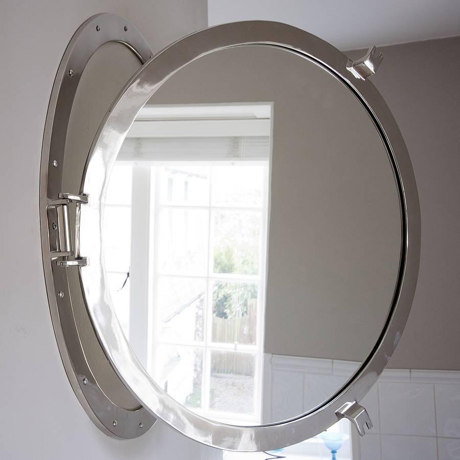 Round Porthole Mirrordecorative Mirrors Online regarding Porthole Mirrors (Image 15 of 15)