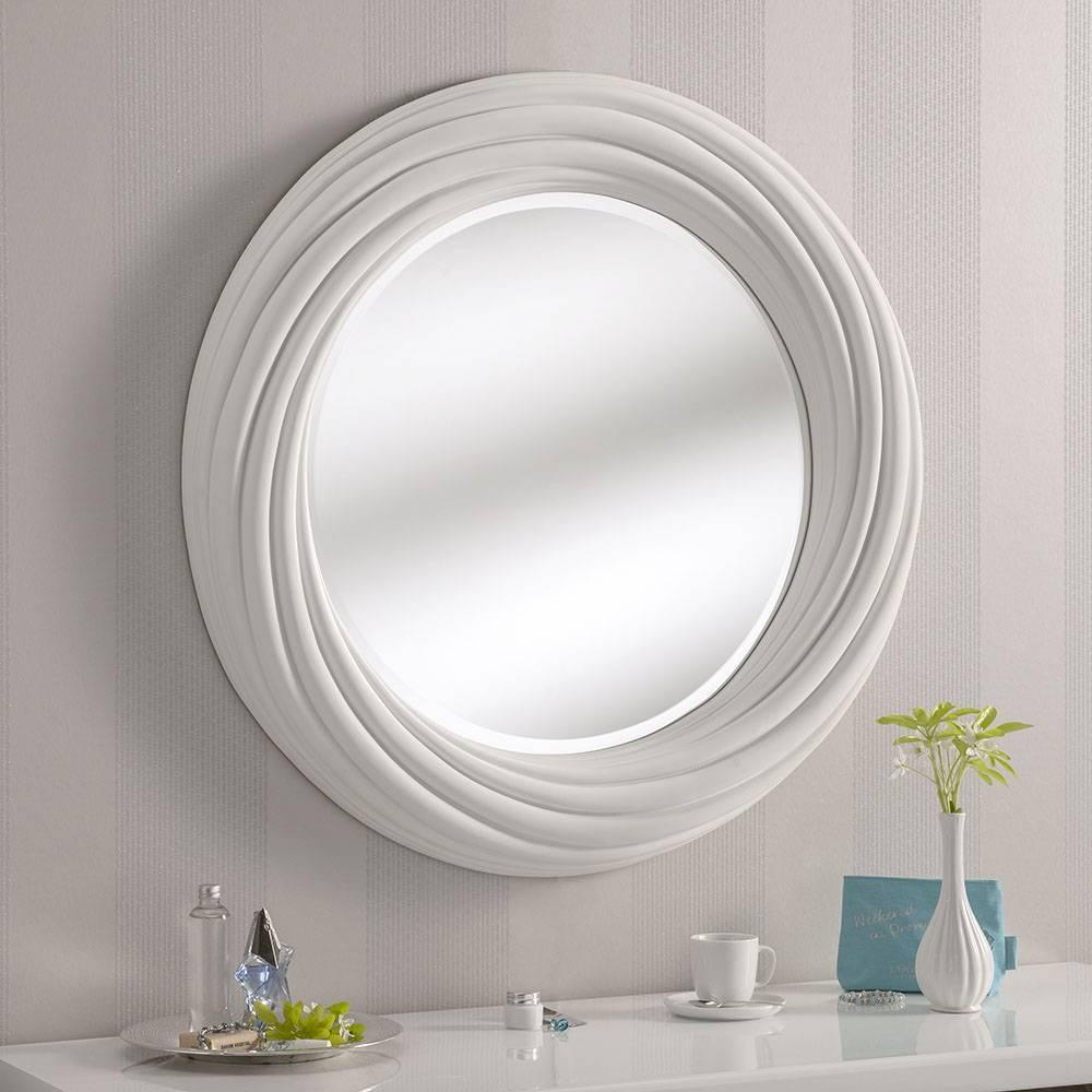 Featured Photo of White Round Mirrors