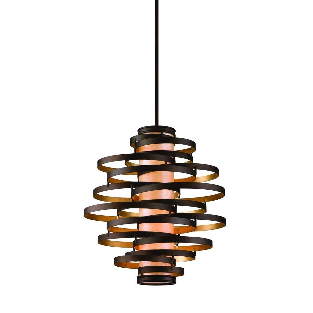 Rustic Bronze Pendant Lights | Destination Lighting in Rustic Pendant Lighting (Image 7 of 15)
