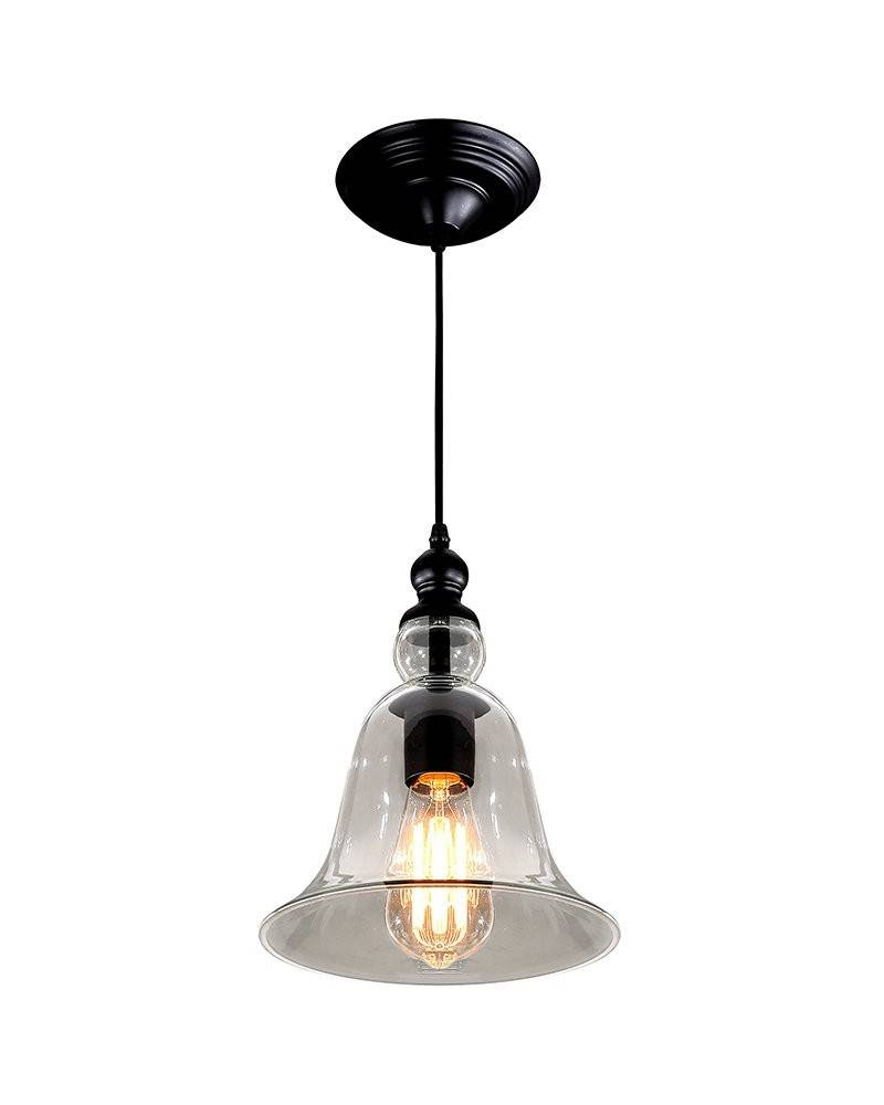 2019 Popular Glass Bell Shaped Pendant Light