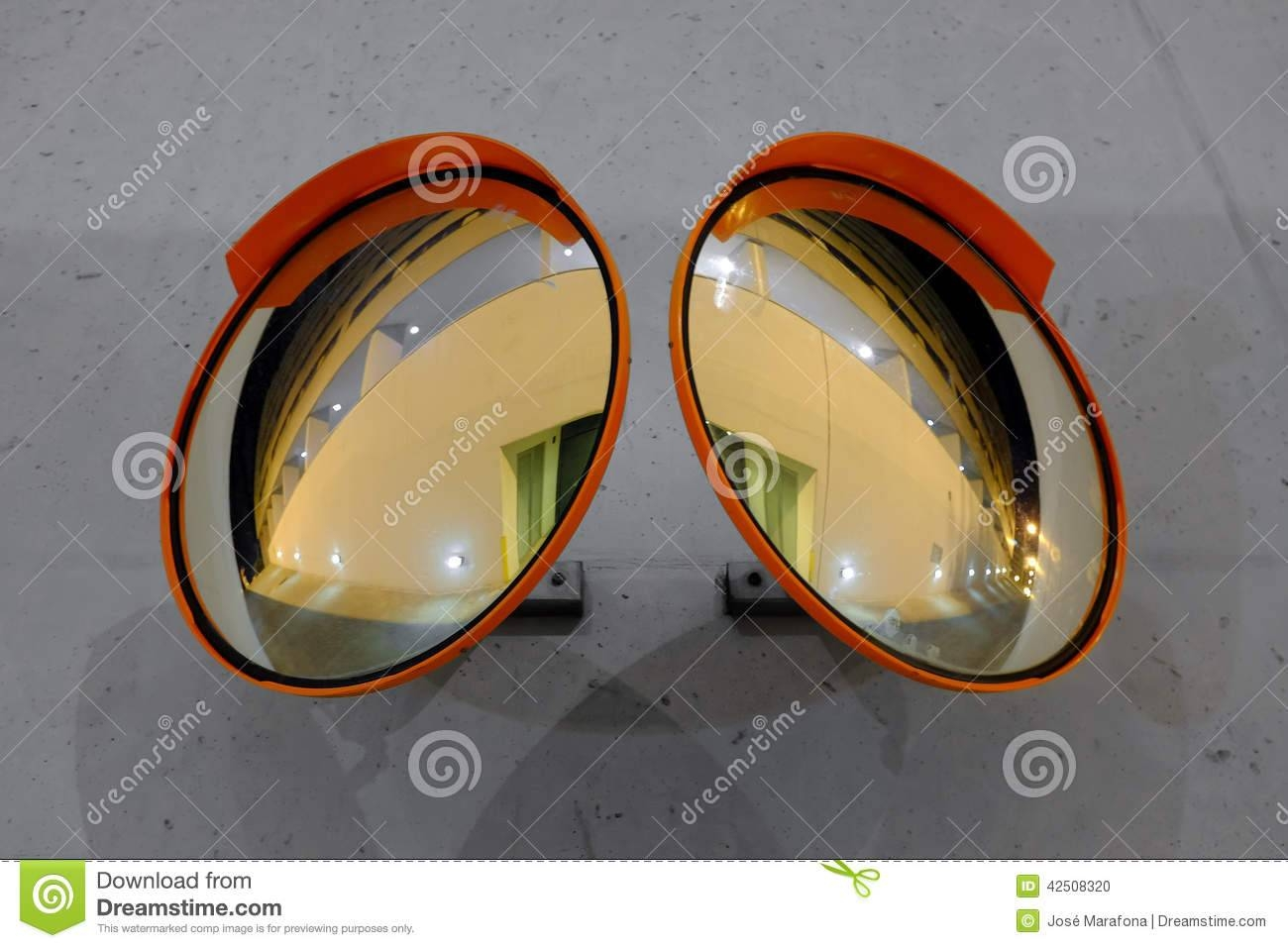 Safety Convex Mirrors Stock Photo - Image: 42508320 for Convex Mirrors (Image 13 of 15)