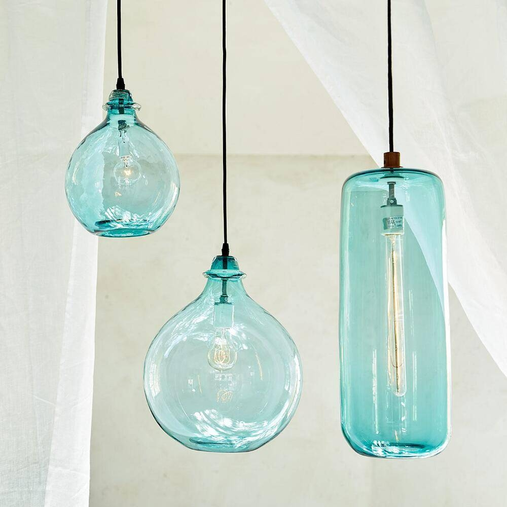 Salon Glass Demijohn Pendant | Everything Turquoise intended for Demijohn Pendant Lights (Image 12 of 15)