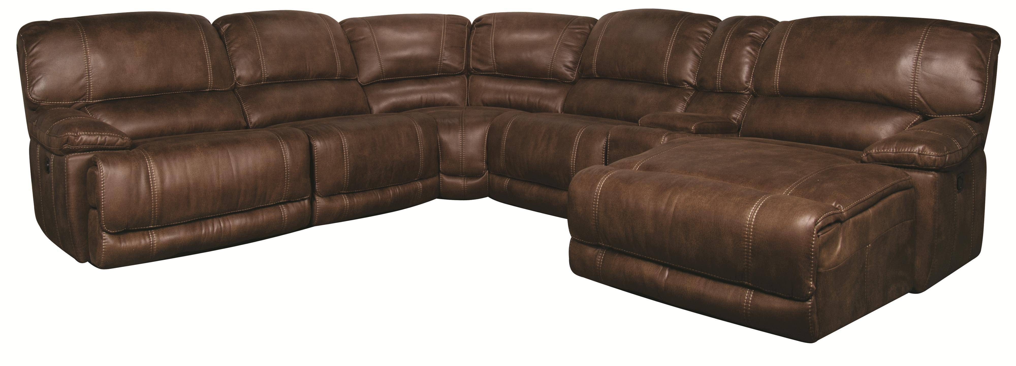 Sandra 6-Piece Power Sectional - Morris Home - Reclining Sectional for 6 Piece Sectional Sofas Couches (Image 12 of 15)