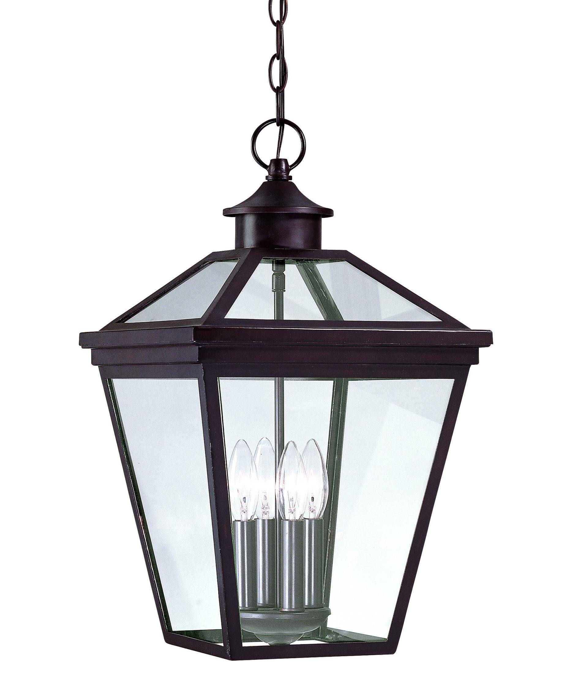 Savoy House 5-145-13 Ellijay 12 Inch Wide 4 Light Outdoor Hanging with regard to Outdoor Pendant Lighting (Image 10 of 15)