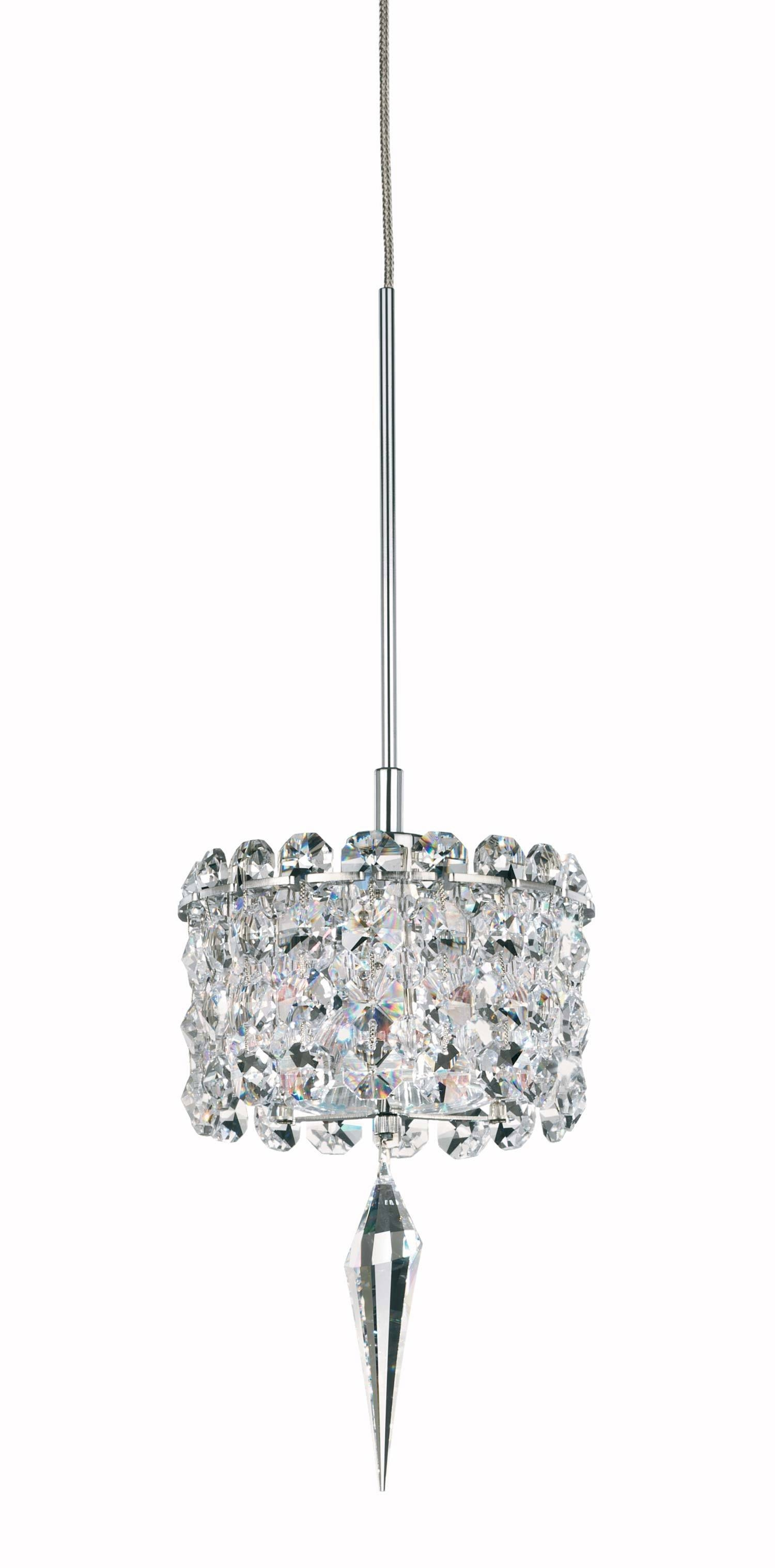 Schonbek Mc0403 Matrix Collection Mini Pendant Crystal inside Halogen Mini Pendant Lights (Image 15 of 15)