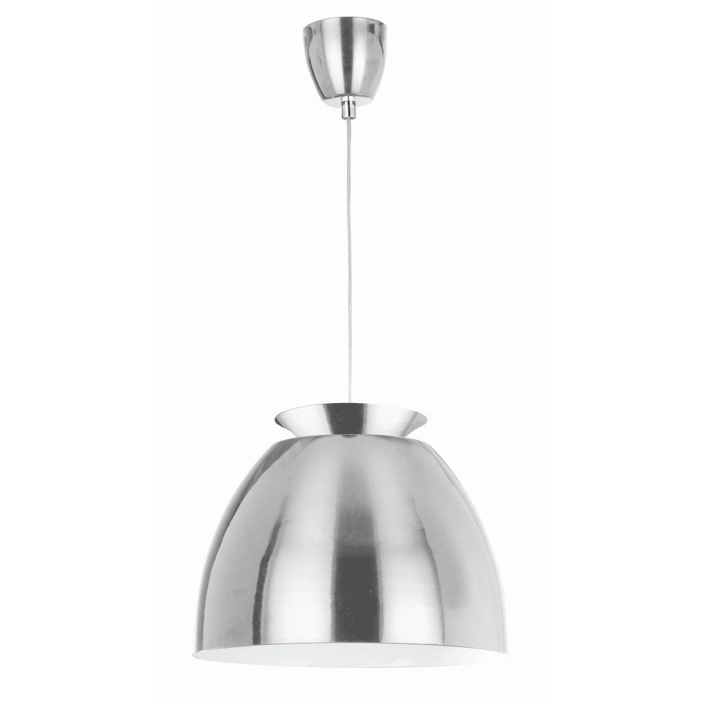 Searchlight 9870ss | Pendants 1 Light Stainless Steel Ceiling Pendant Inside Stainless Steel Pendant Lighting (View 6 of 15)