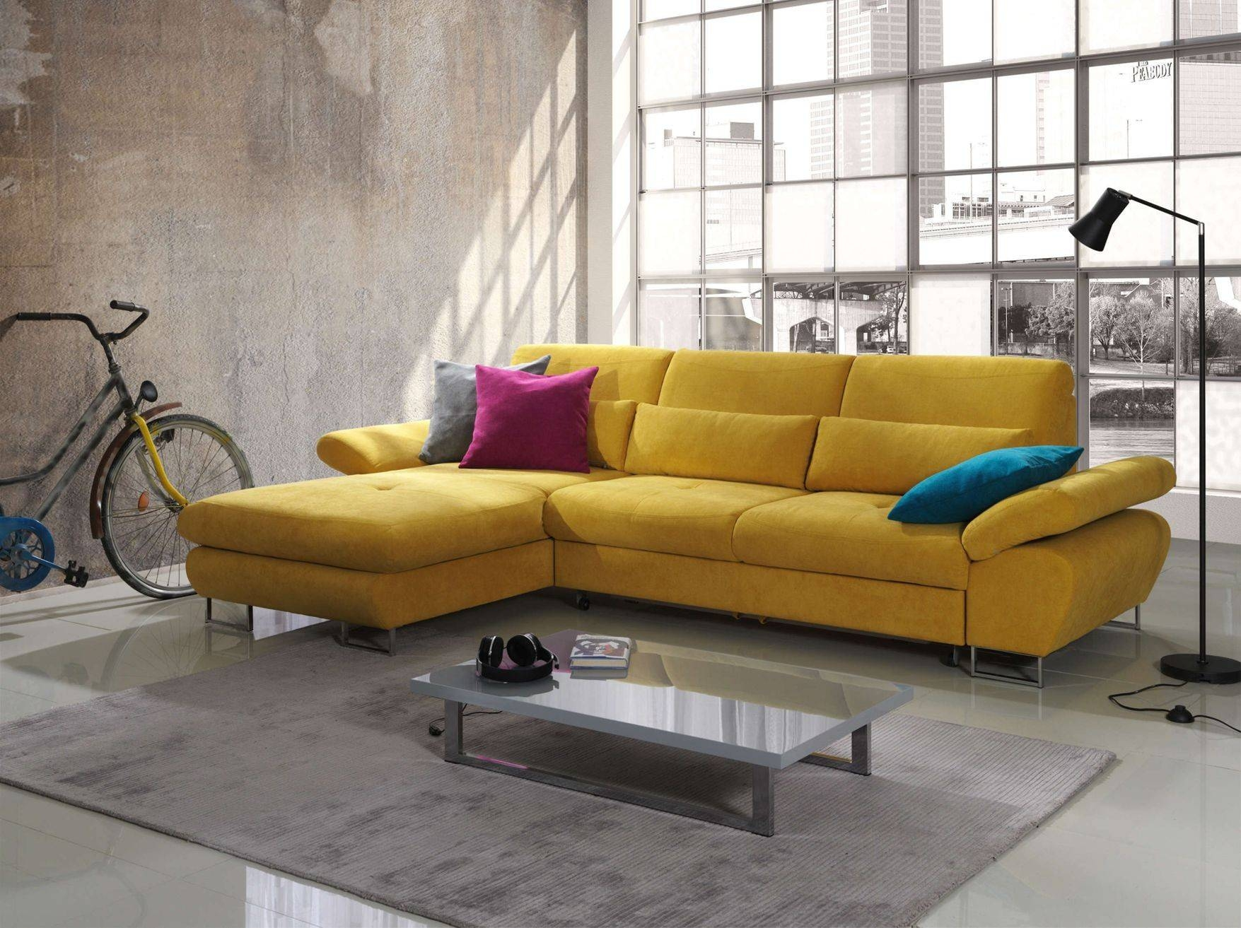Sectional Sofa Sleepers For Better Sleep Quality And Comfort For Yellow Sectional Sofas (View 7 of 15)