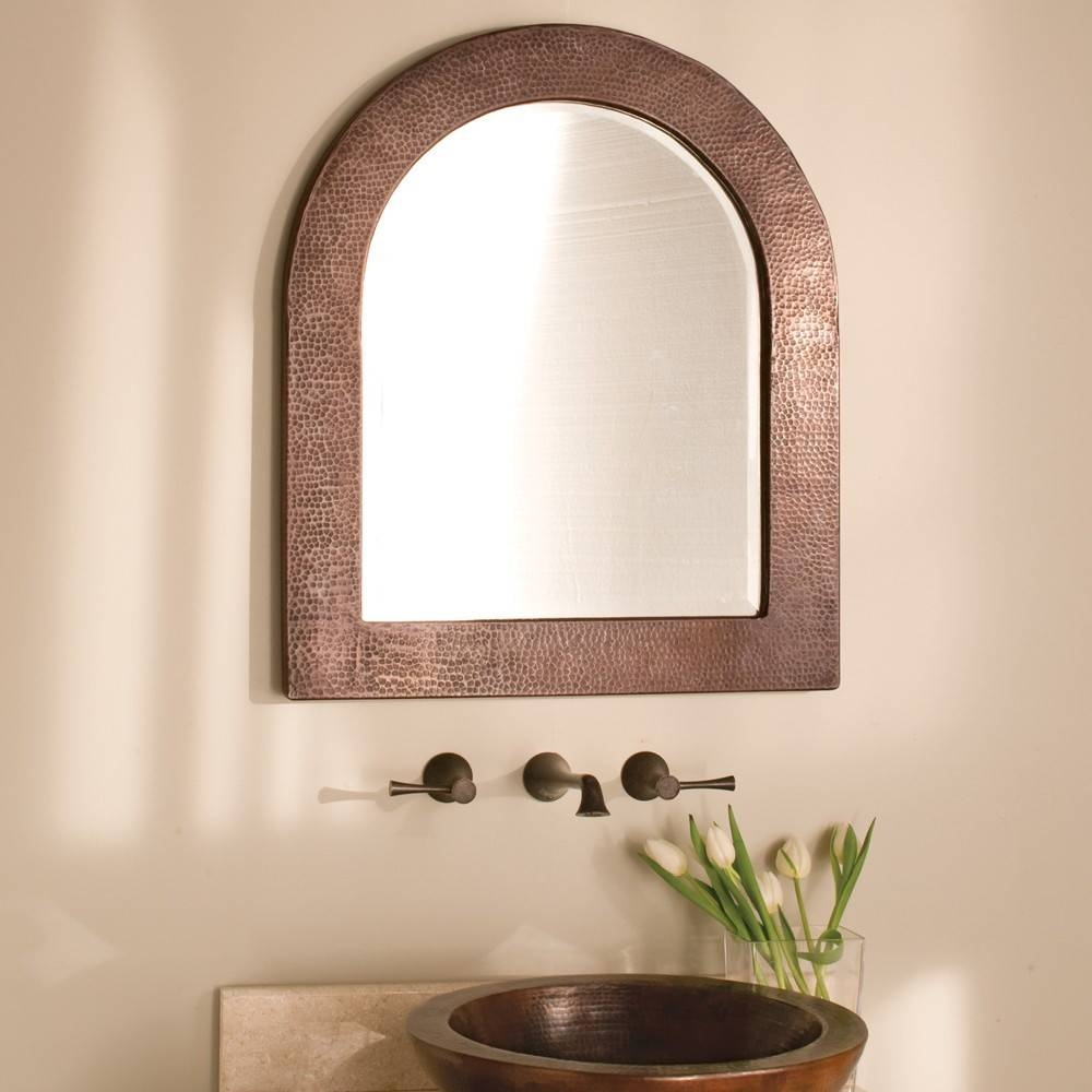 Sedona Arched Copper Framed Wall Mirror | Native Trails with regard to Arched Wall Mirrors (Image 11 of 15)