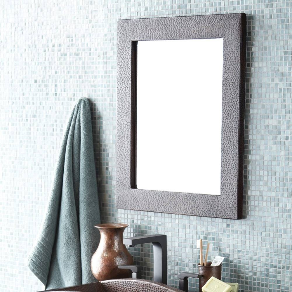 Sedona Rectangle Copper Wall Mirrors Cpm62 | Native Trails throughout Small Antique Wall Mirrors (Image 13 of 15)