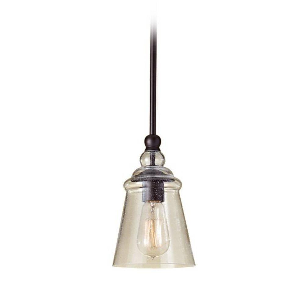 Seeded Glass Mini Pendant Light   Retro Glass Shades regarding Seeded Glass Mini Pendant Lights (Image 10 of 15)