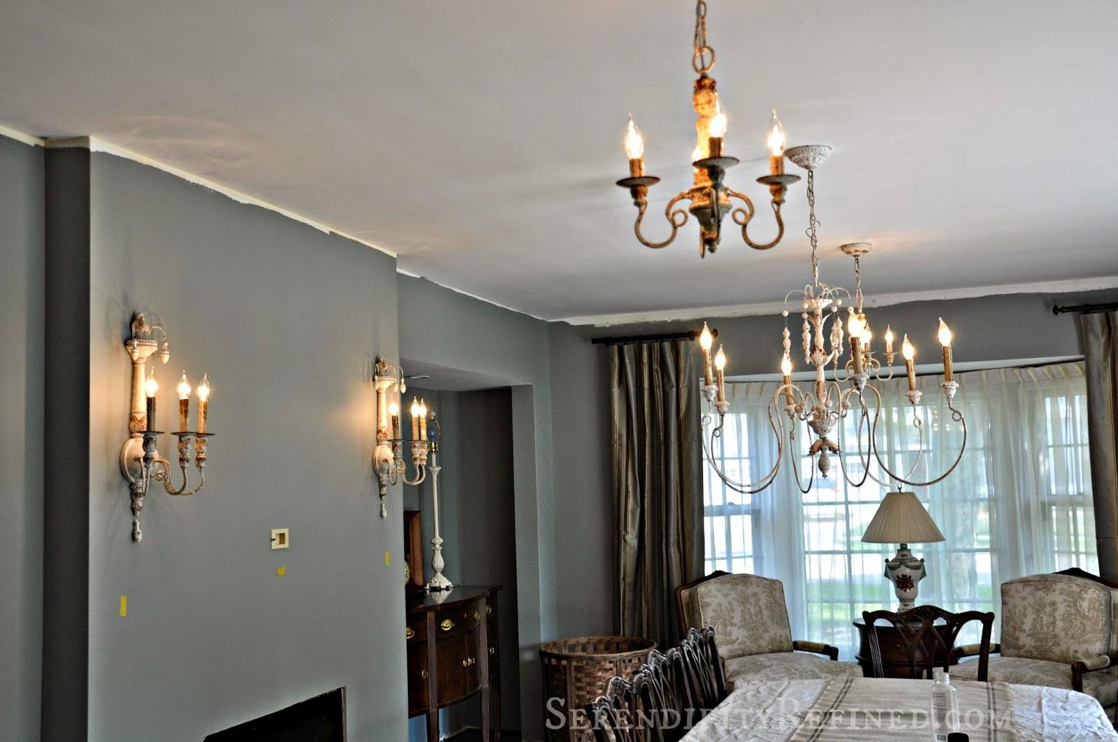 Serendipity Refined Blog: French Country Light Fixtures For The within French Style Lights (Image 14 of 15)