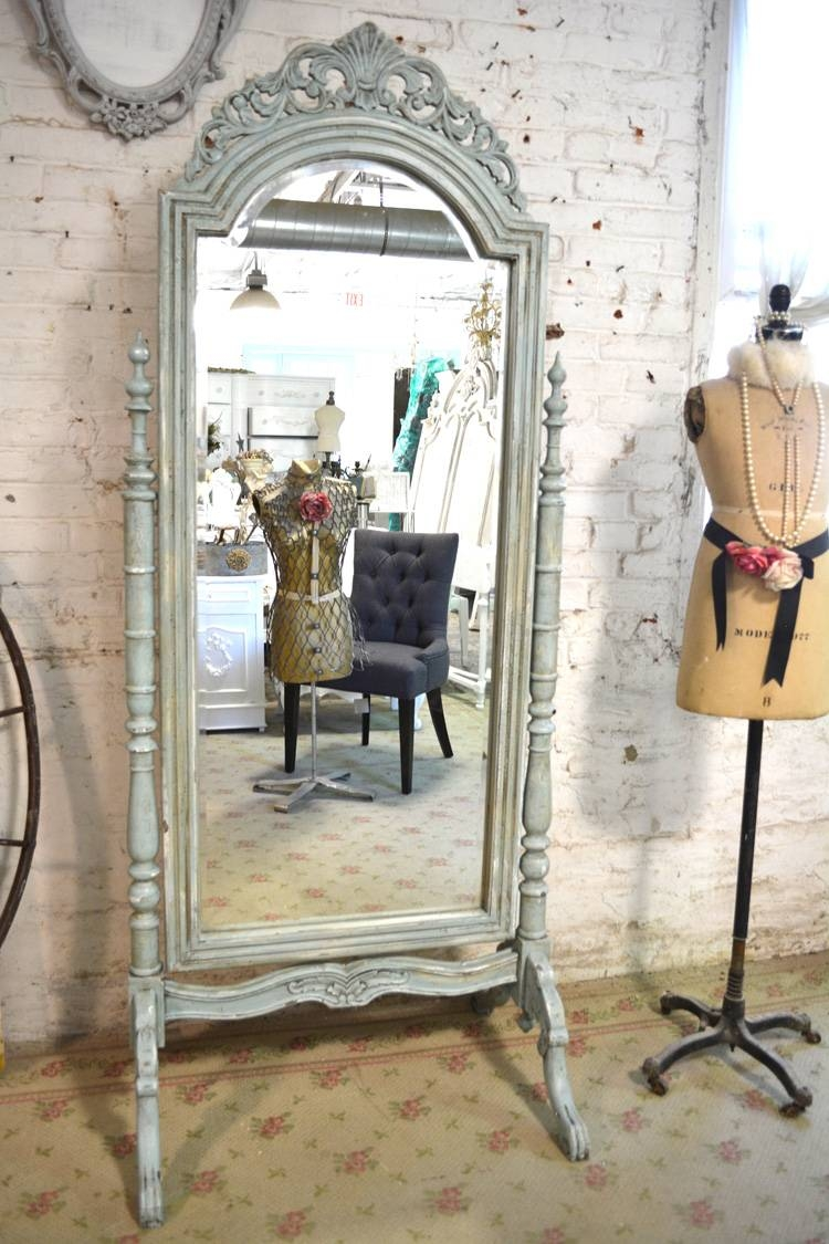 Shabby Chic Mirror with regard to Chic Mirrors (Image 9 of 15)