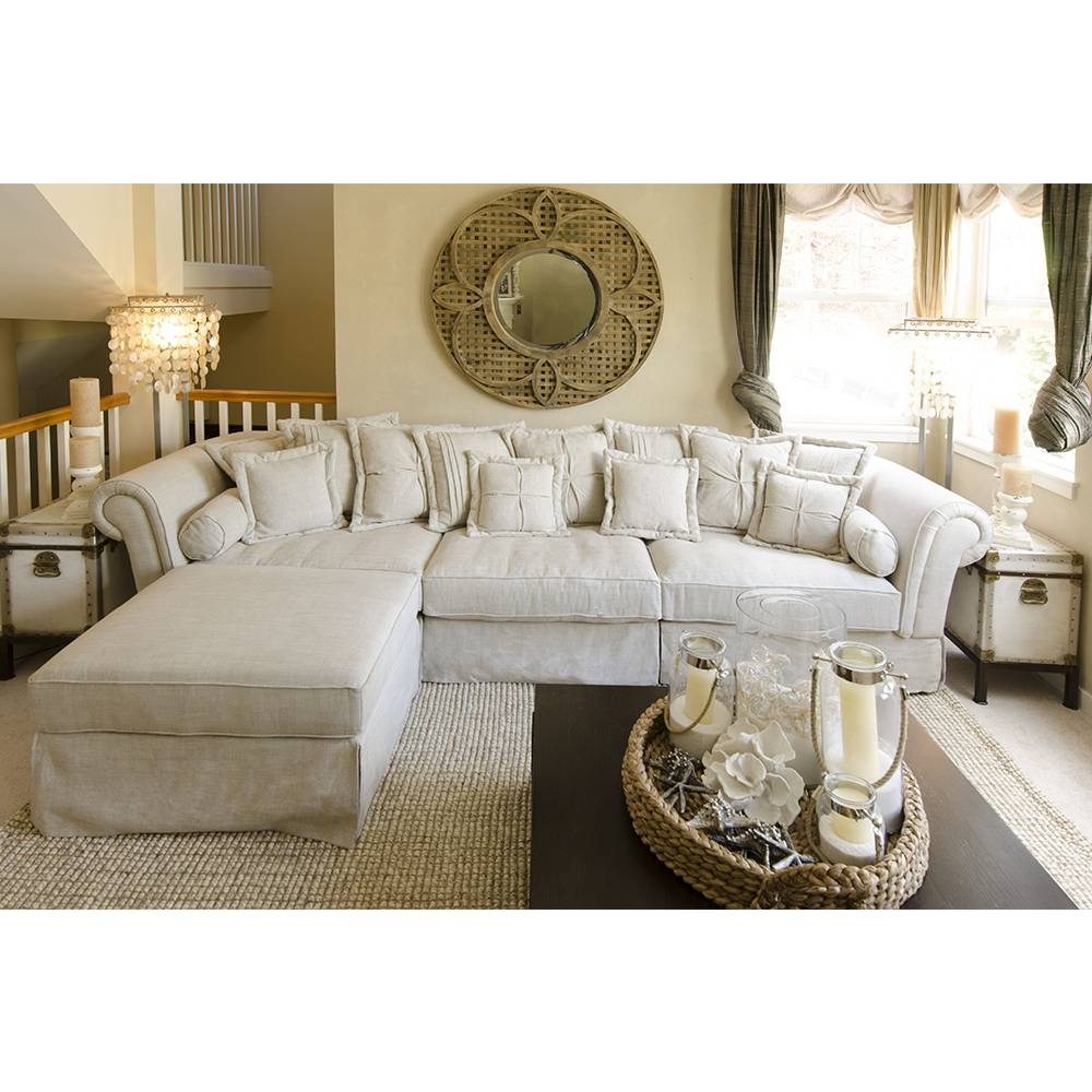 Shabby Chic Sectional Sofa – Hotelsbacau With Shabby Chic Sectional Couches (View 8 of 15)