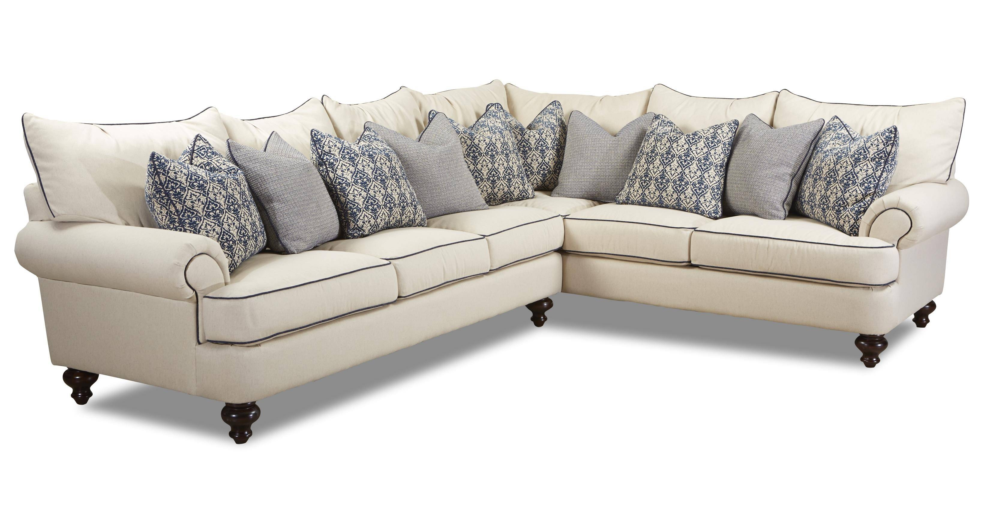 Shabby Chic Sectional Sofaklaussner | Wolf And Gardiner Wolf throughout Shabby Chic Sectional Sofas Couches (Image 13 of 15)