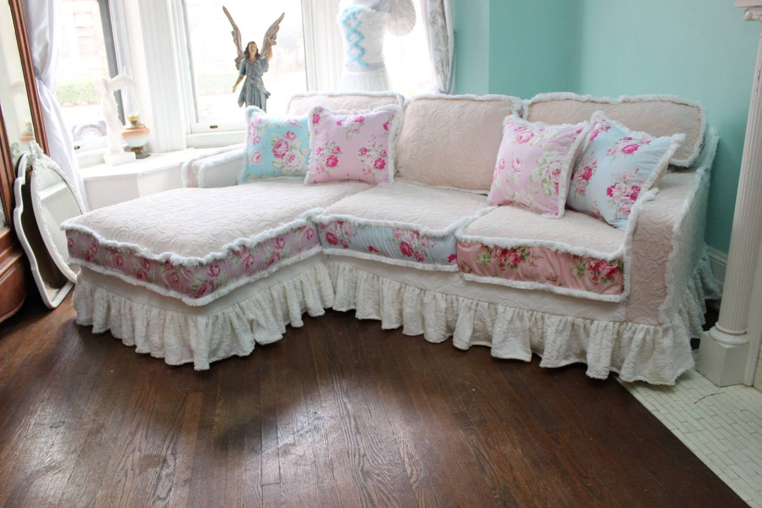 Shabby Chic Sofas | Tehranmix Decoration In Shabby Chic Sectional Couches (View 12 of 15)