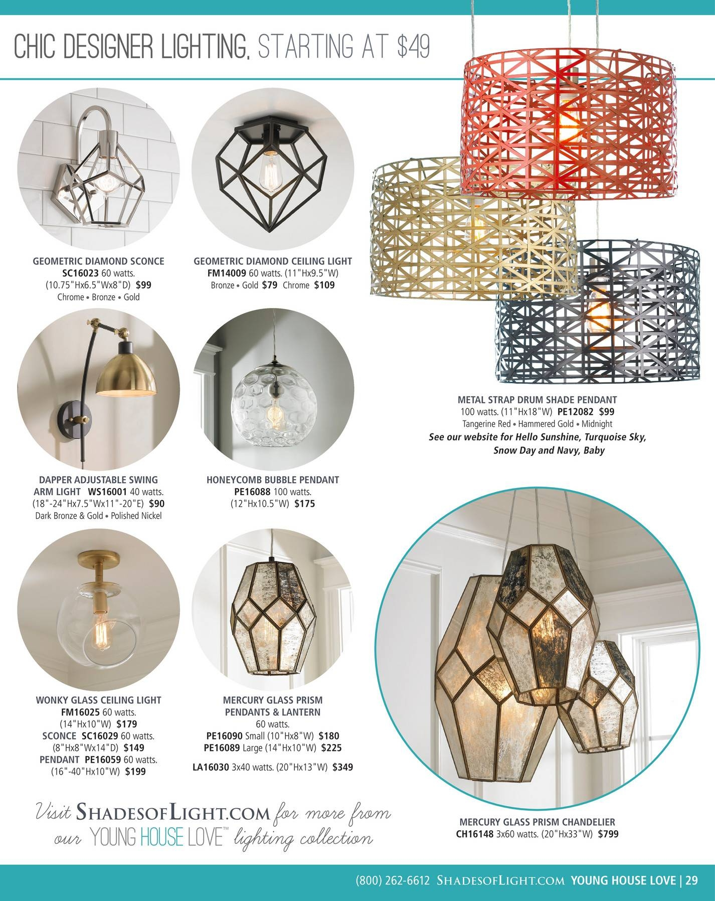 Shades Of Light - Global Market 2017 - Page 28-29 intended for Young House Love Pendant Lights (Image 12 of 15)