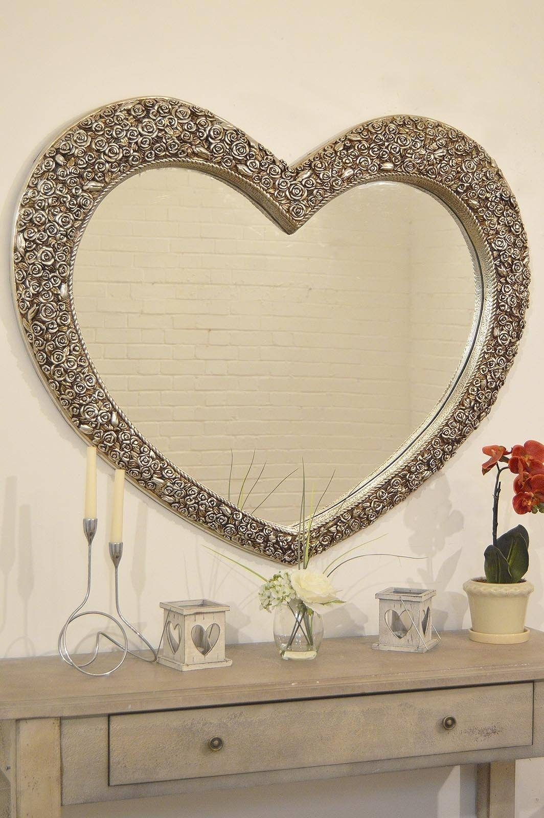 Featured Photo of Heart Shaped Mirrors For Walls
