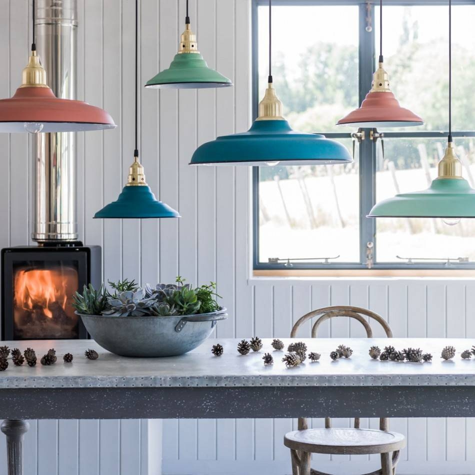 Sherbet Pendant Lights | Lighting | Graham And Green in Toulon Pendant Lights (Image 10 of 15)