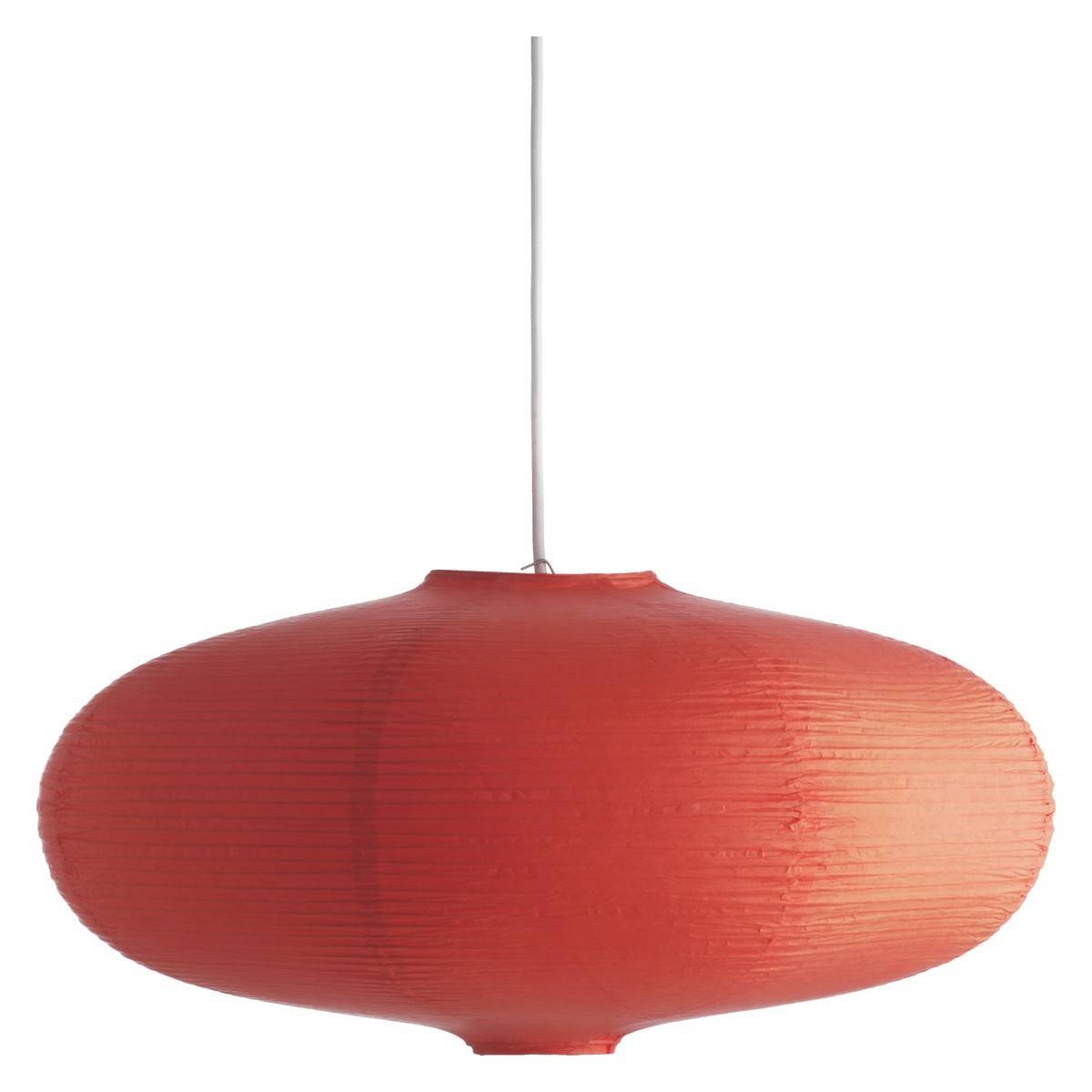 Shiro Orange Paper Easy-To-Fit Ceiling Shade | Buy Now At Habitat Uk for John Lewis Lights Shades (Image 13 of 15)