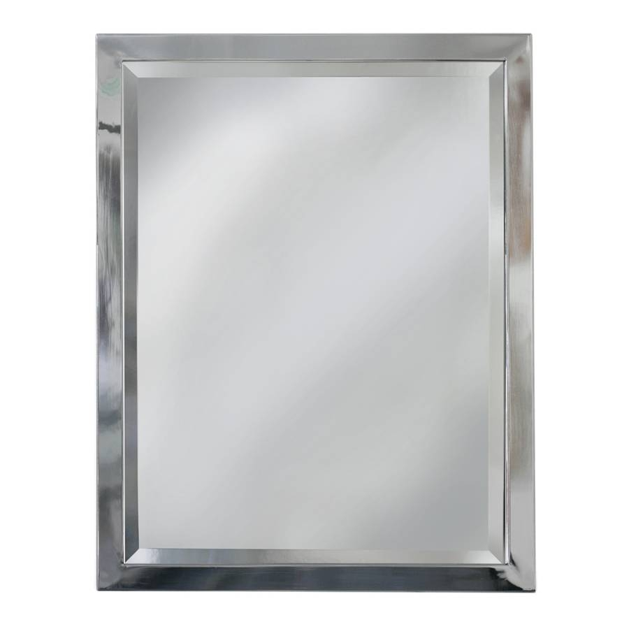 Popular Photo of Chrome Framed Mirrors