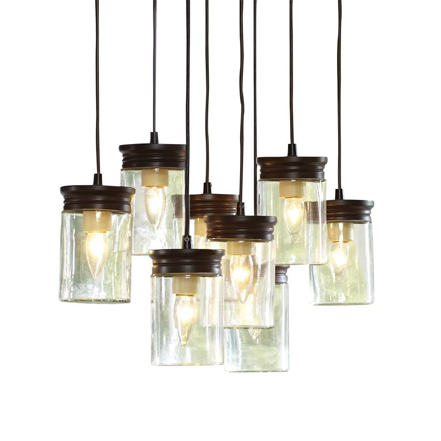 Shop Allen + Roth 8-In W Oil-Rubbed Bronze Standard Pendant Light in Allen and Roth Pendants (Image 6 of 15)