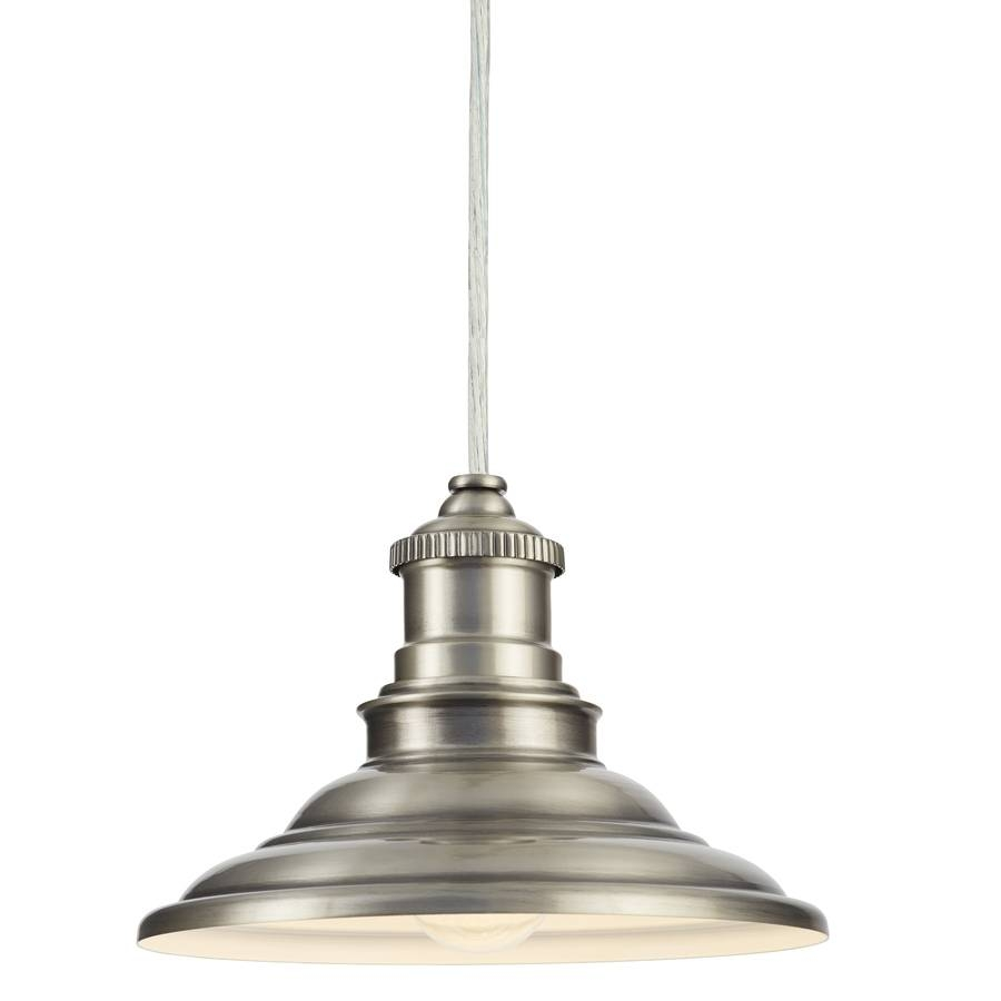 Shop Allen + Roth Hainsbrook 7.99-In Antique Pewter Rustic Mini with regard to Allen Roth Lights Fixtures (Image 8 of 15)