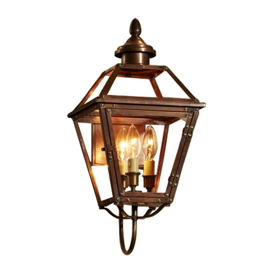 Shop Allen + Roth New Vineyard 20.125-In H Antique Copper Outdoor intended for Allen and Roth Lights (Image 13 of 15)