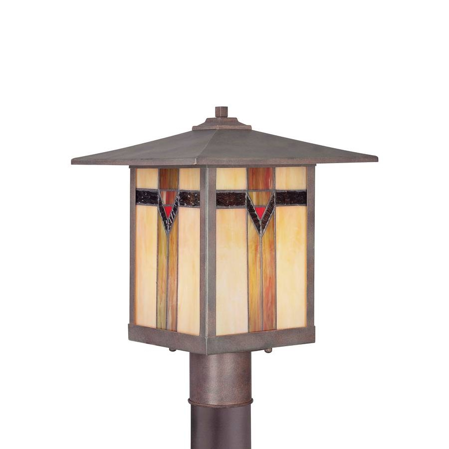 Shop Allen + Roth Vistora 14.9-In H Bronze Post Light At Lowes pertaining to Allen Roth Lights (Image 12 of 15)