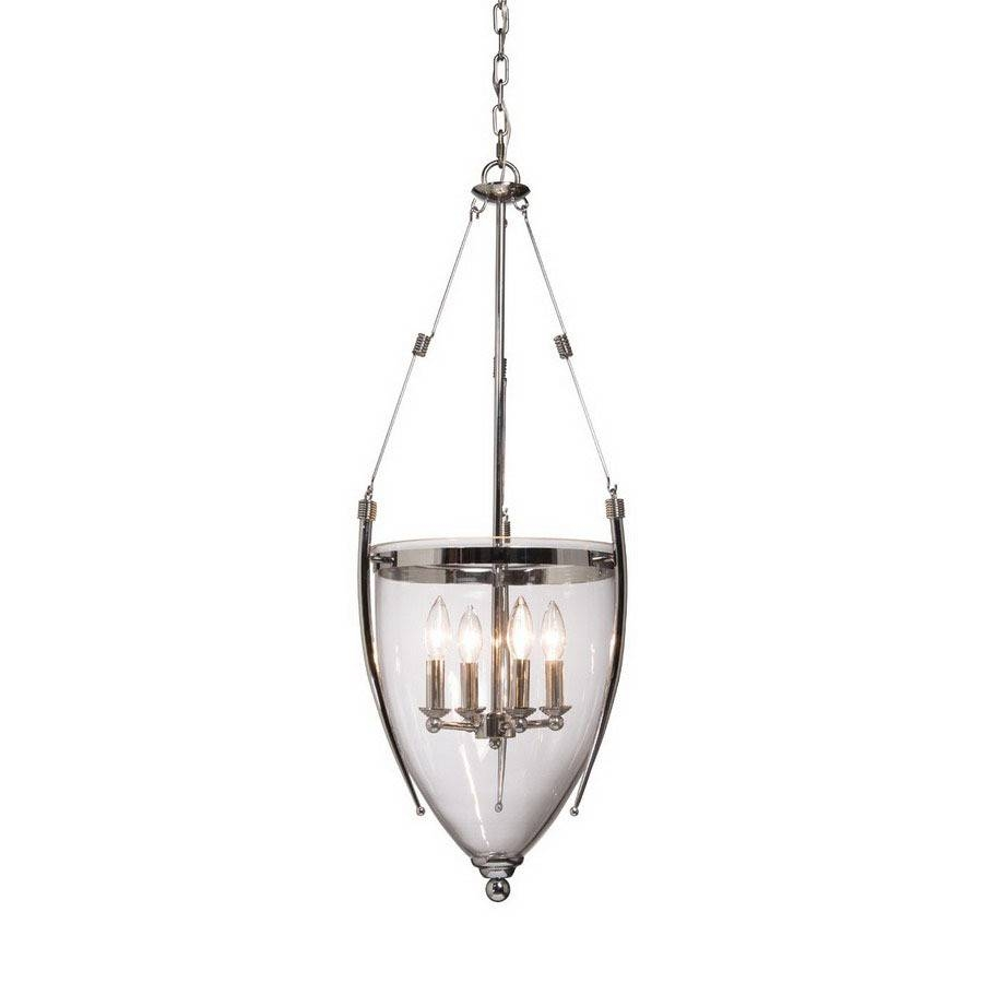 Shop Artcraft Lighting 14-1/4-In W Apothecary Chrome Pendant Light within Apothecary Pendant Lights (Image 14 of 15)