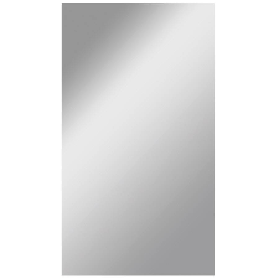 Shop Dreamwalls Silver Polished Frameless Wall Mirror At Lowes intended for Frameless Wall Mirrors (Image 8 of 15)