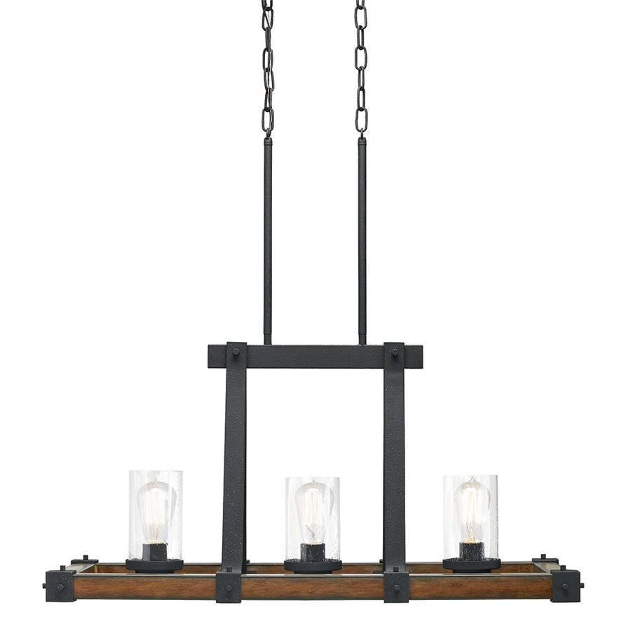 Shop Kitchen Island Lighting At Lowes inside Lowes Edison Pendant Lights (Image 11 of 15)