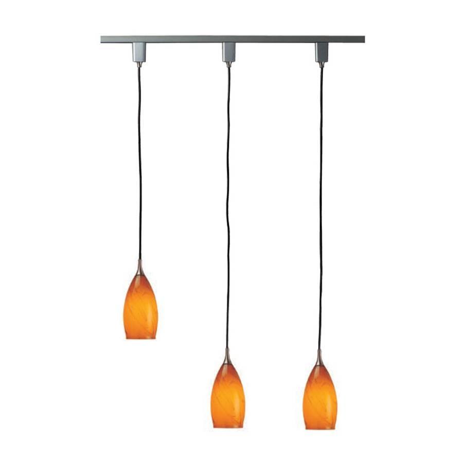 Shop Linear Track Lighting Kits At Lowes Regarding 3 Pendant Light Kits (View 2 of 15)
