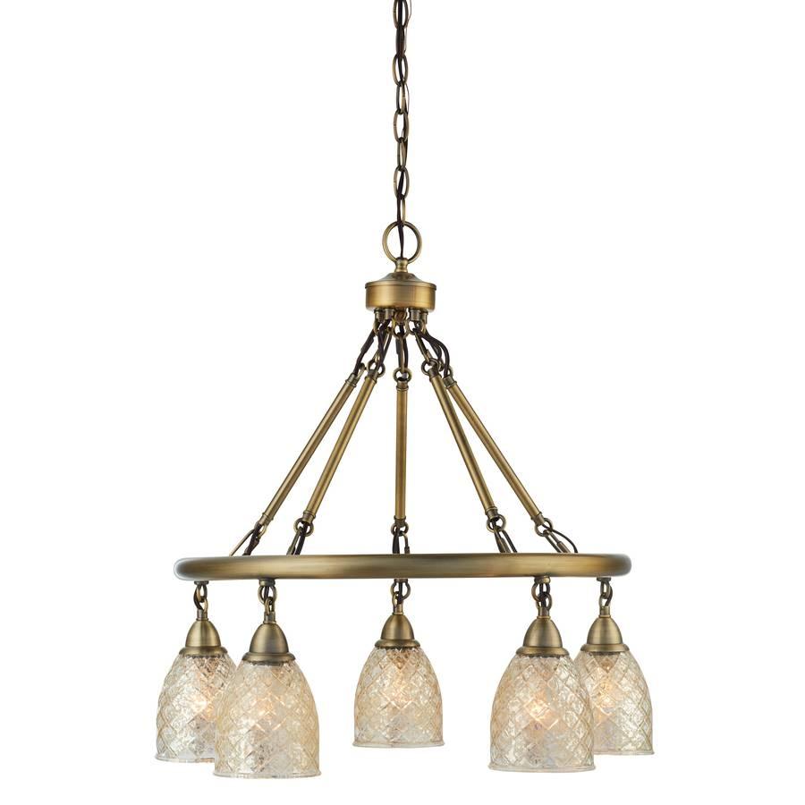 Shop Lynlore Lighting From Allen + Roth® Lighting with Mercury Glass Lighting Fixtures (Image 14 of 15)