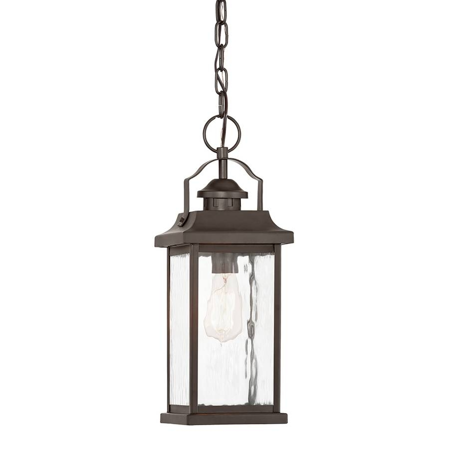 Shop Outdoor Pendant Lights At Lowes for Carriage Pendant Lights (Image 11 of 15)