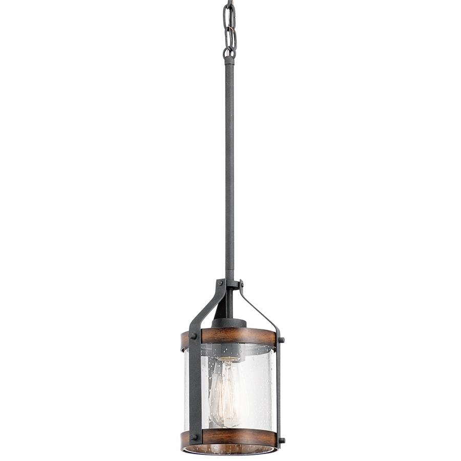 Shop Pendant Lighting At Lowes for Carriage Pendant Lights (Image 14 of 15)