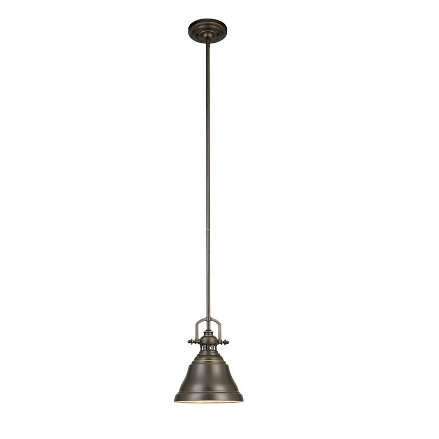 Shop Pendant Lighting At Lowes for Oil Rubbed Bronze Mini Pendant Lights (Image 13 of 15)