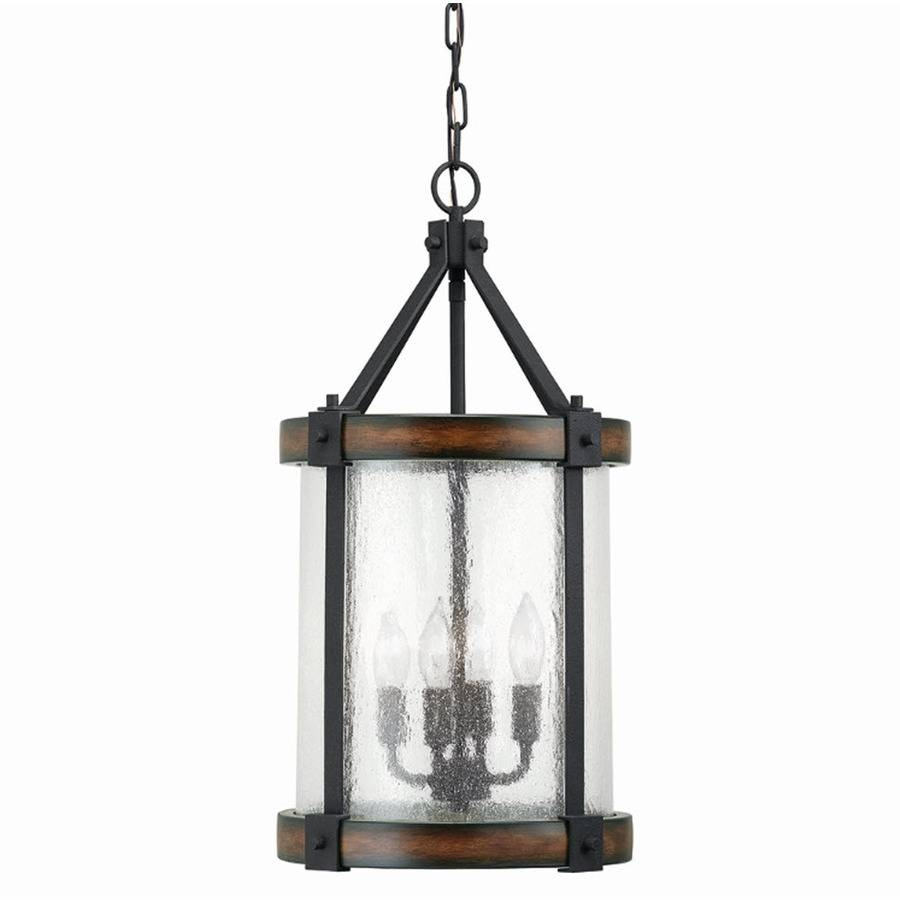 Shop Pendant Lighting At Lowes regarding Carriage Pendant Lights (Image 15 of 15)