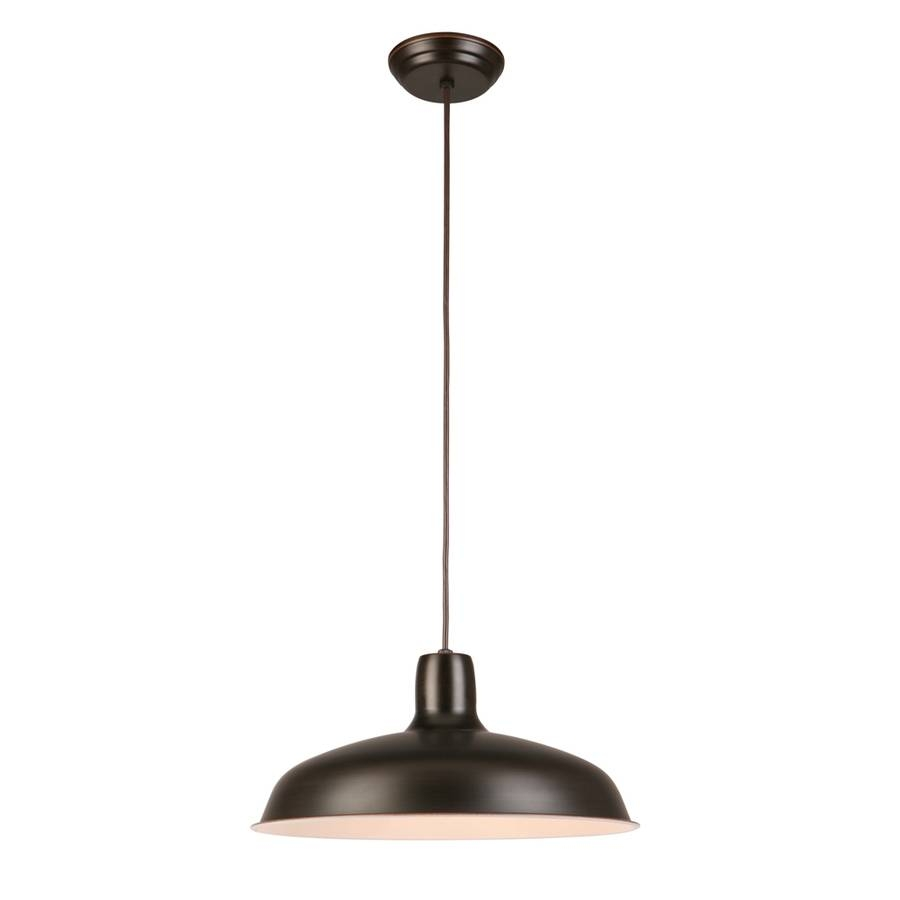 Shop Pendant Lighting At Lowes Within Barn Pendant Lights (View 4 of 15)
