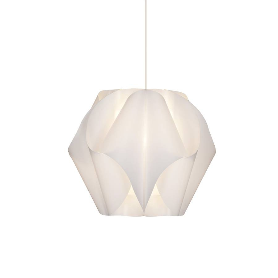 Shop Style Selections Gambrell 16.5-In White Single Pendant At inside Plugin Ceiling Lights (Image 15 of 15)