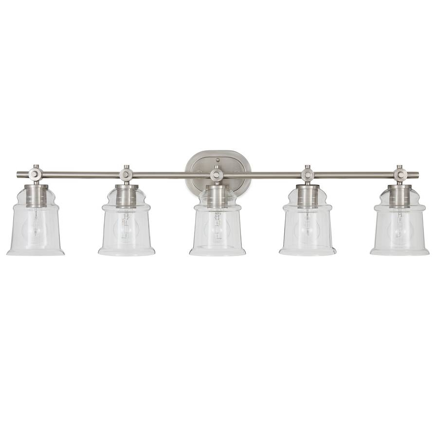 Shop Vanity Lights At Lowes inside Allen Roth Lights Fixtures (Image 15 of 15)