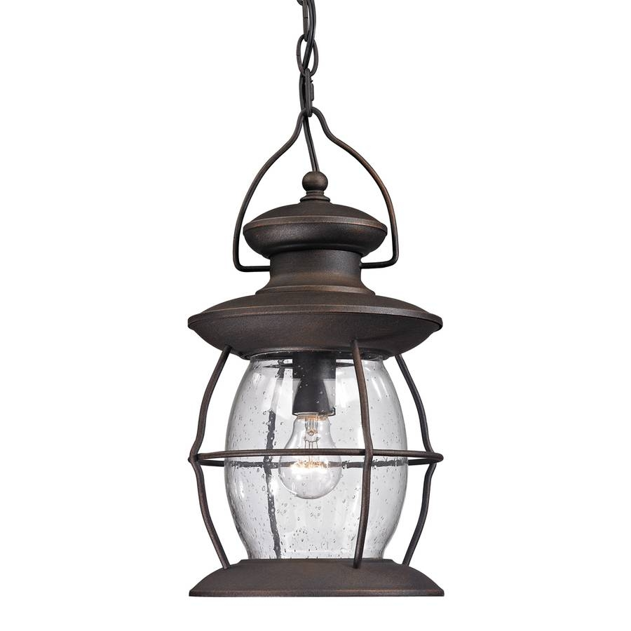 Shop Westmore Lighting Sutter's Mill 17-In Weathered Charcoal intended for Lowes Outdoor Hanging Lights (Image 15 of 15)