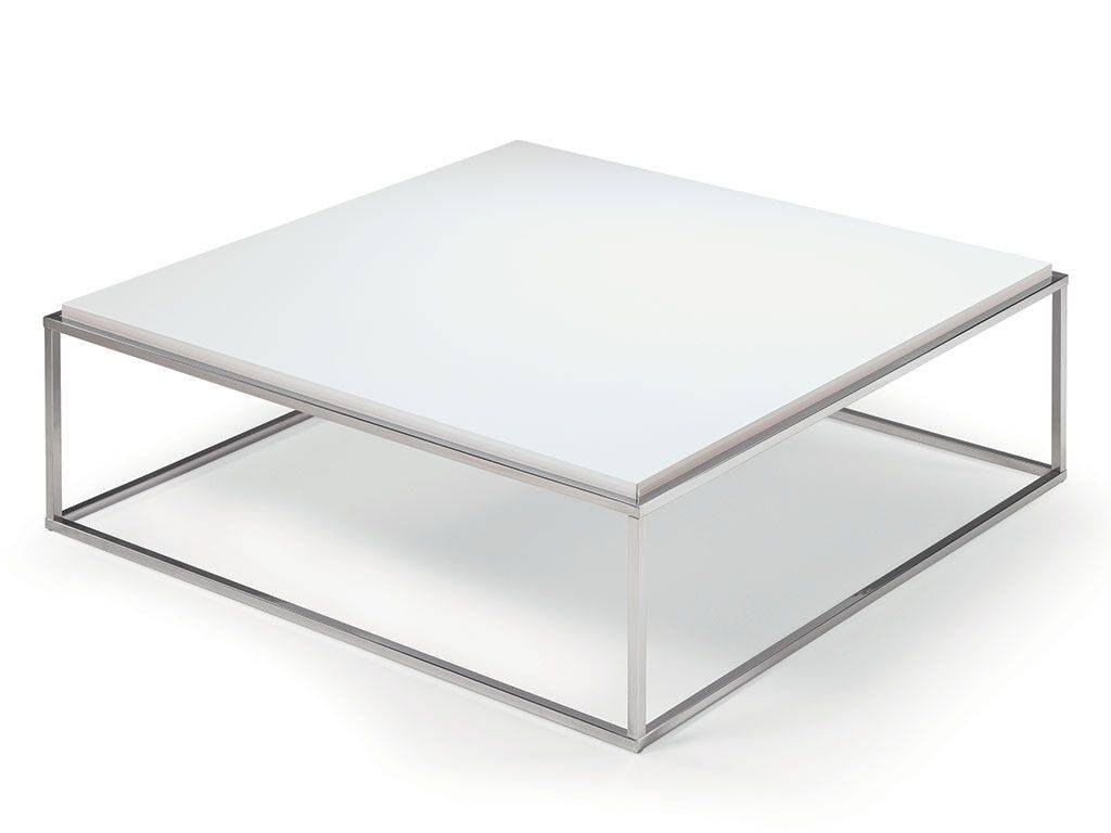 Short Square Coffee Table Lamina In Short Coffee Tables (View 12 of 15)