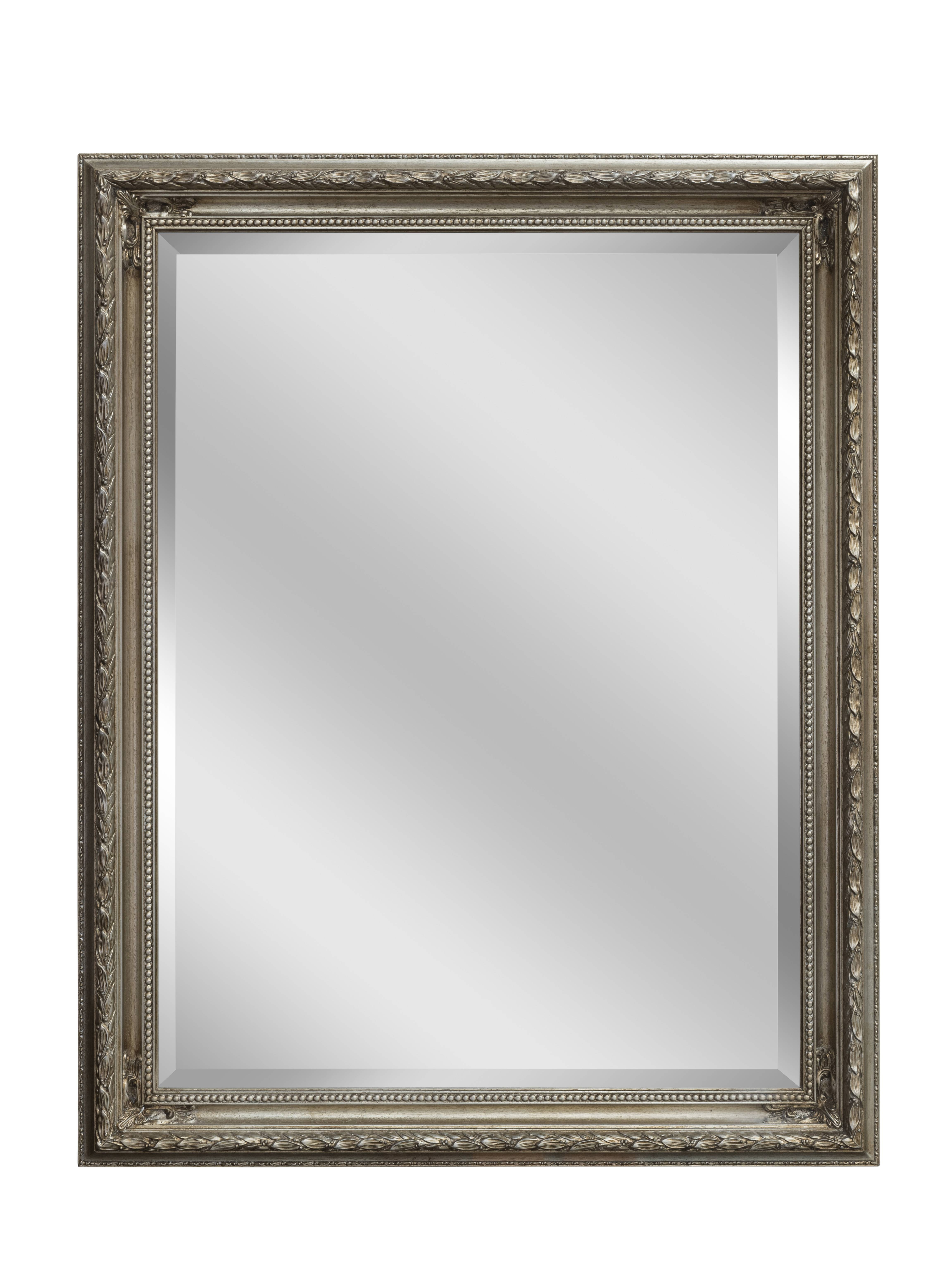 Silver Baroque Mirror | Large Mirrors For Sale - Panfili Mirrors with regard to Silver Baroque Mirrors (Image 14 of 15)